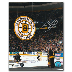 Cam Neely Autographed Boston Bruins 8X10 Photo