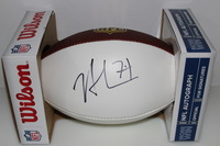 NFL - JETS NICK MANGOLD SIGNED PANEL BALL