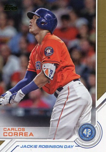 Photo of 2017 Topps Jackie Robinson Day #JRD13 Carlos Correa