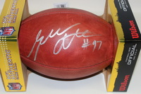 NFL - BENGALS GENO ATKINS SIGNED AUTHENTIC FOOTBALL