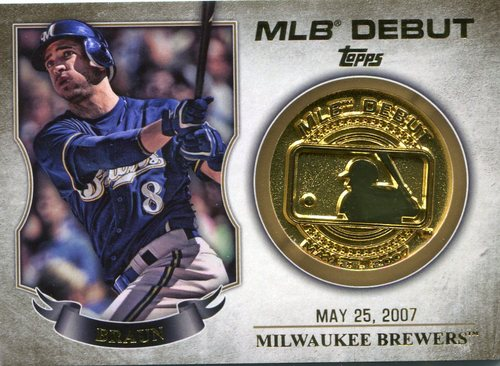 Photo of 2016 Topps MLB Debut Medallion #MDMRB Ryan Braun