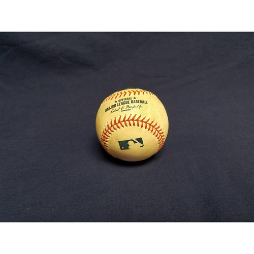 Photo of Game-Used Baseball: Albert Pujols Single 1844th Career RBI, Ties Carl Yastrzemski