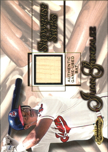 Photo of 2001 Fleer Showcase Sticks #14 Juan Gonzalez