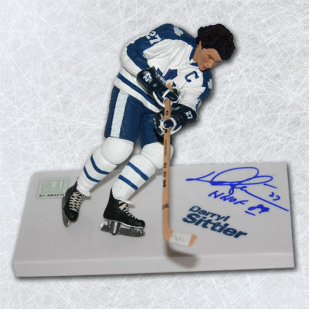 Darryl Sittler Toronto Maple Leafs Autographed McFarlane Sports Picks Figure