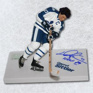 Darryl Sittler Toronto Maple Leafs Autographed McFarlane SP