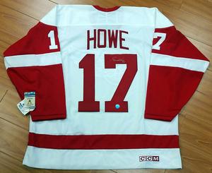 Gordie Howe Detroit Red Wings Autographed Retro CCM Rookie Year Jersey w/ Rookie Year Inscription *Deceased*