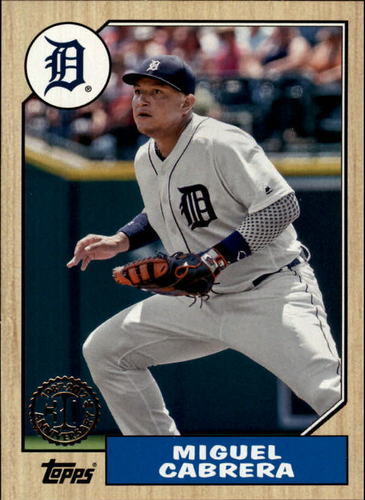 Photo of 2017 Topps '87 Topps #15 Miguel Cabrera