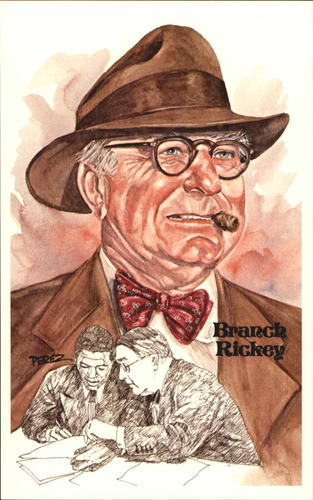 Photo of 1980-02 Perez-Steele Hall of Fame Postcards #105 Branch Rickey -- Set #08689