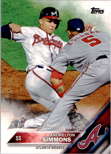 Photo of 2016 Topps #183 Andrelton Simmons