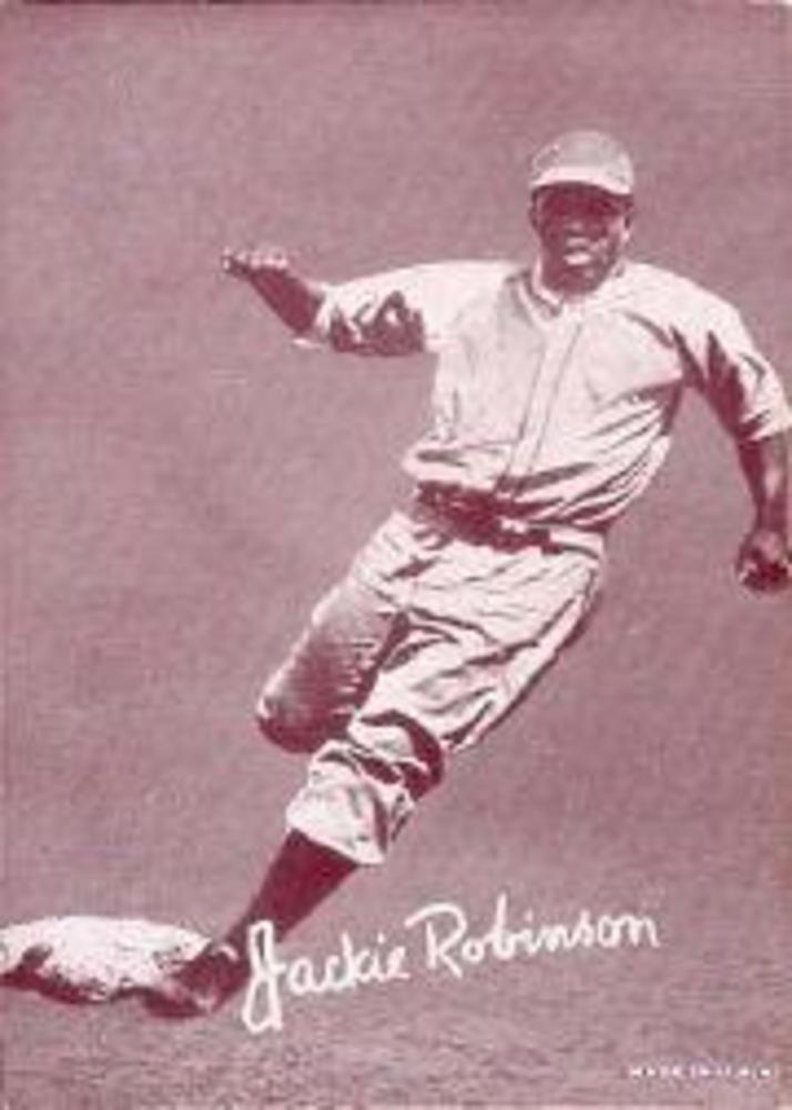 1947-66 Exhibits #193 Jackie Robinson