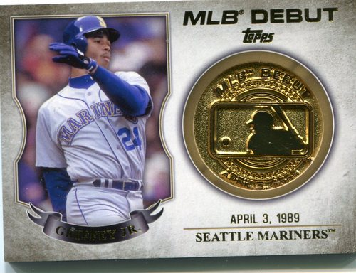 Photo of 2016 Topps MLB Debut Medallion #MLBDM26 Ken Griffey Jr. S2