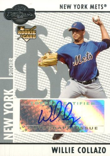 Photo of 2008 Topps Co-Signers #101 Willie Collazo AU RC