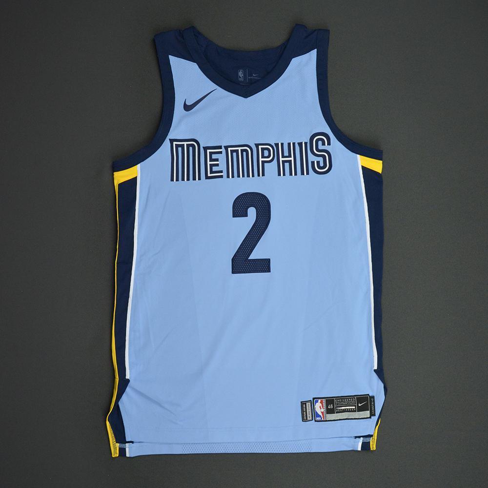 Kobi Simmons - Memphis Grizzlies - Statement Game-Worn Jersey  - 2017-18 Season