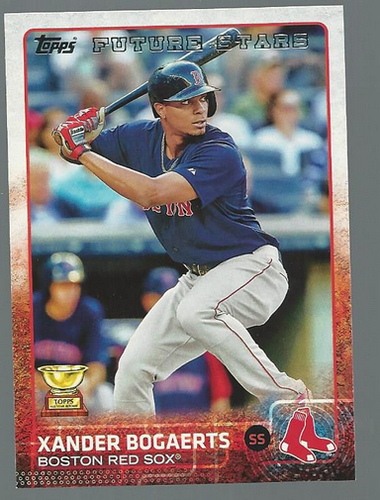 Photo of 2015 Topps #327 Xander Bogaerts FS