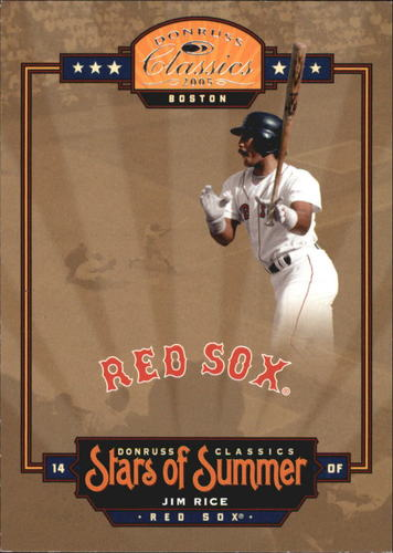 Photo of 2005 Donruss Classics Stars of Summer #14 Jim Rice