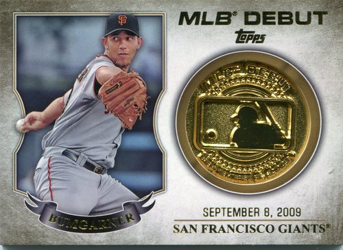 Photo of 2016 Topps MLB Debut Medallion #MLBDM213 Madison Bumgarner S2