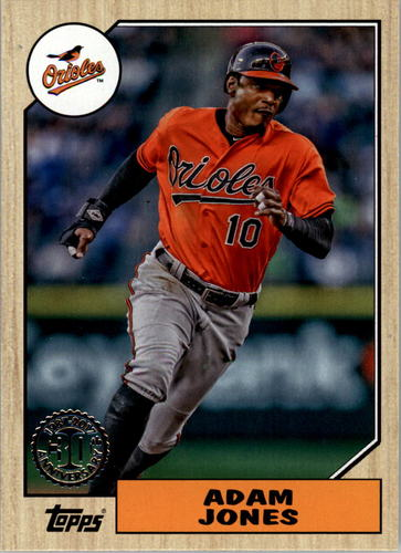 Photo of 2017 Topps '87 Topps #19 Adam Jones