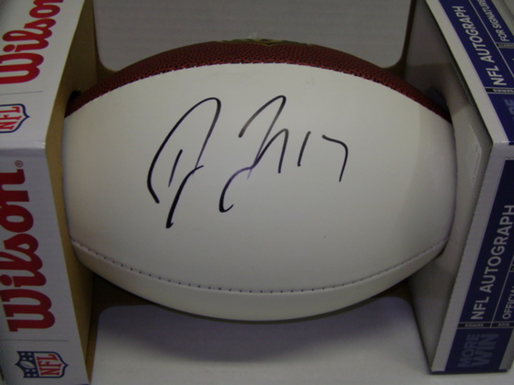 PANTHERS - DEVIN FUNCHESS SIGNED PANEL BALL