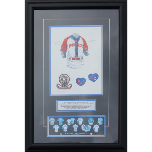 Photo of 1995 Jersey History Frame (Non authenticated)