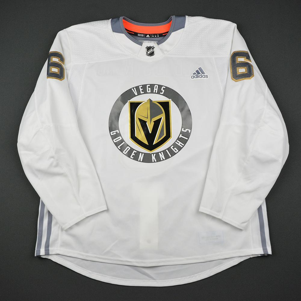 Colin Miller Warmup Worn/Autographed Practice Jersey - Vegas Golden Knights