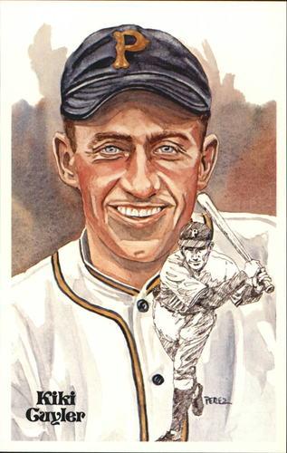 Photo of 1980-02 Perez-Steele Hall of Fame Postcards #108 Kiki Cuyler -- Set #08689