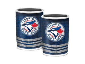 Toronto Blue Jays Woolie Can Cooler by Mustang Drinkware