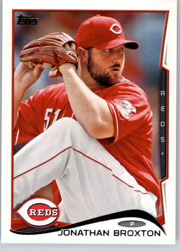 Photo of 2014 Topps #140 Jonathan Broxton