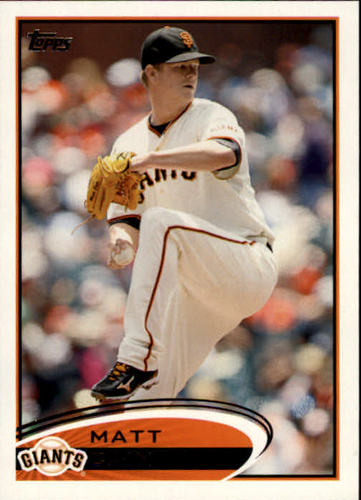Photo of 2012 Topps #155 Matt Cain