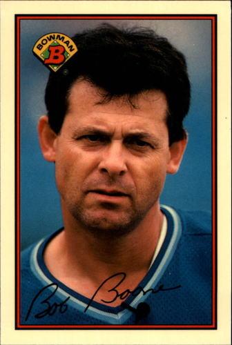 Photo of 1989 Bowman Tiffany #119 Bob Boone
