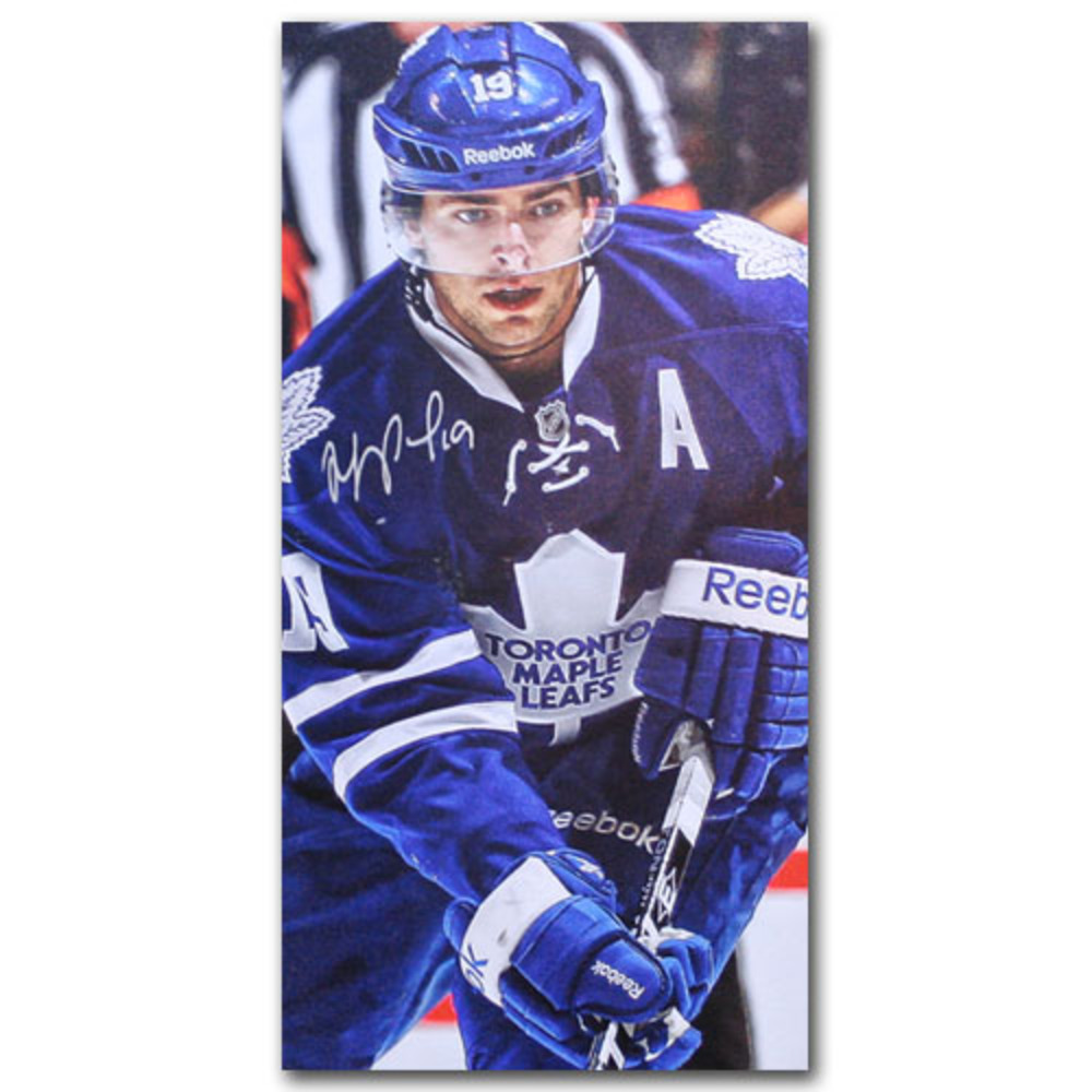 Joffrey Lupul Autographed Toronto Maple Leafs 14X28 Canvas