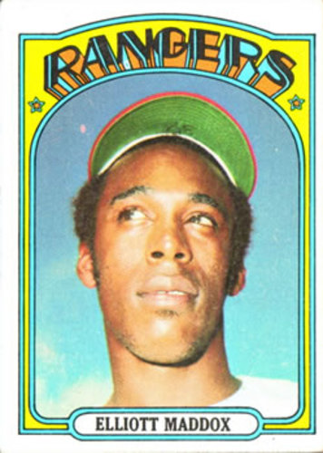 Photo of 1972 Topps #277 Elliott Maddox