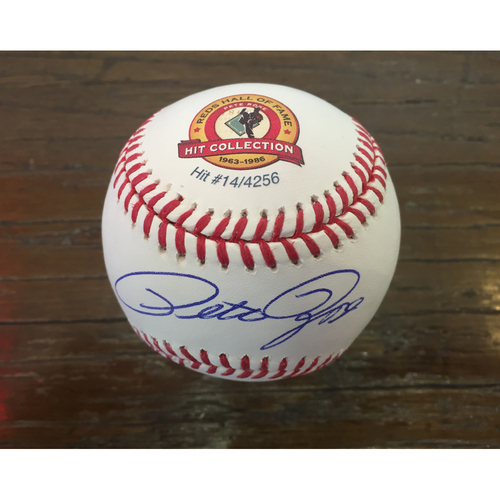 Pete Rose Hit Collection - Hit #14 - Your Chance to Own Hit #14 from the Career of Baseball's Most Famous #14! Includes VIP Seating to Pete Rose Statue Dedication!