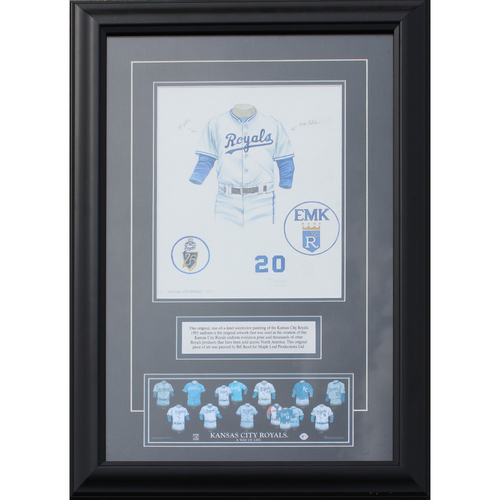 Photo of 1993 Jersey History Frame (Non authenticated)