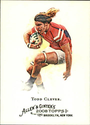 Photo of 2008 Topps Allen and Ginter #238 Todd Clever