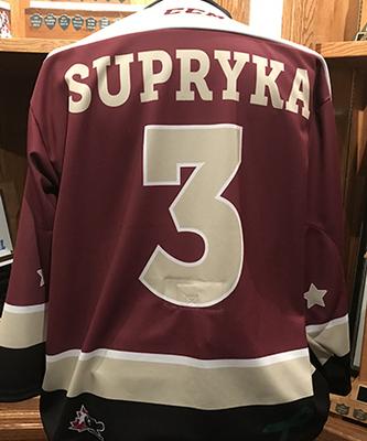 Cam Supryka (#3) - Game-Worn Petes Alumni Homecoming Jersey