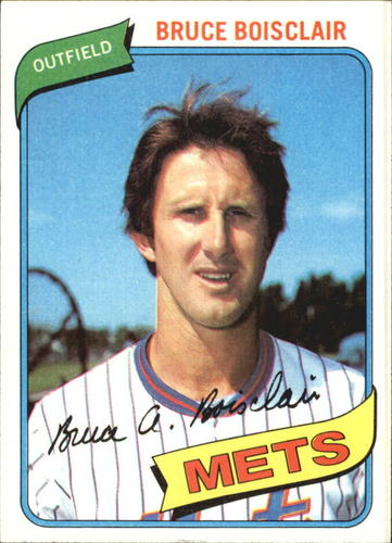 Photo of 1980 Topps #654 Bruce Boisclair DP