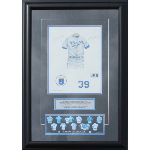 Photo of 1992 Jersey History Frame (Non authenticated)