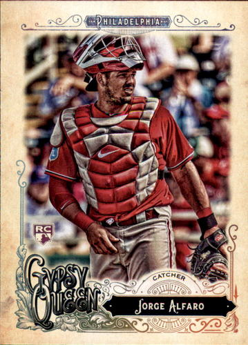 Photo of 2017 Topps Gypsy Queen #4 Jorge Alfaro RC