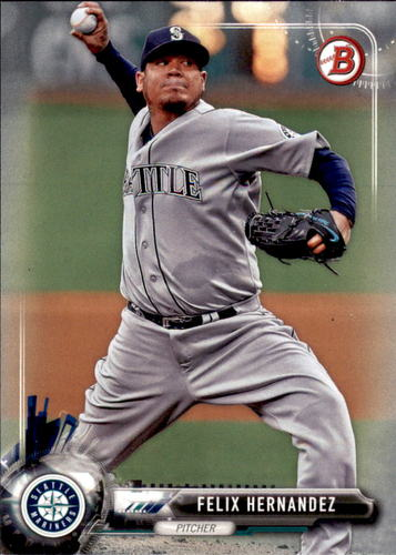 Photo of 2017 Bowman #70 Felix Hernandez