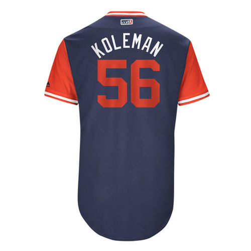 "Photo of Kole ""Koleman"" Calhoun Los Angeles Angels Game-Used Players Weekend Jersey"