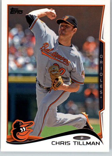 Photo of 2014 Topps #141 Chris Tillman