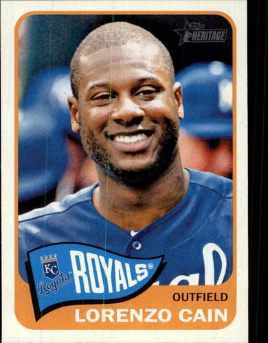 Photo of 2014 Topps Heritage #393 Lorenzo Cain