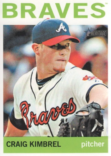 Photo of 2013 Topps Heritage #126A Craig Kimbrel