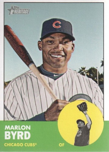 Photo of 2012 Topps Heritage #58 Marlon Byrd