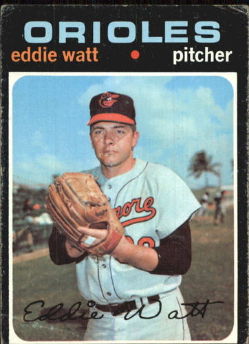Photo of 1971 Topps #122 Eddie Watt
