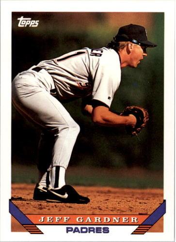 Photo of 1993 Topps #663 Jeff Gardner