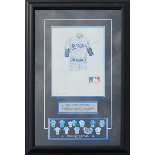 Photo of 1969 Jersey History Frame (Non authenticated)