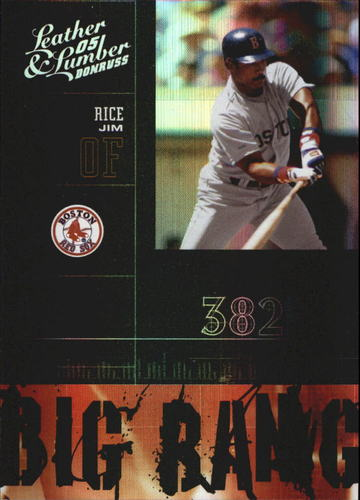 Photo of 2005 Leather and Lumber Big Bang #16 Jim Rice