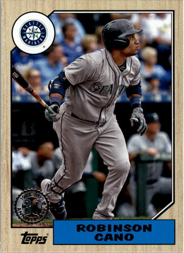 Photo of 2017 Topps '87 Topps #26 Robinson Cano
