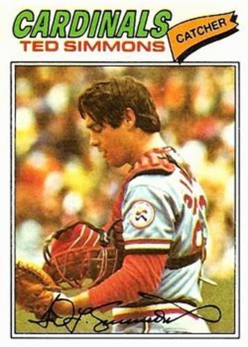 Photo of 1977 Topps #470 Ted Simmons